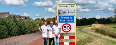 Spil in de wijk Hoorn Plus team